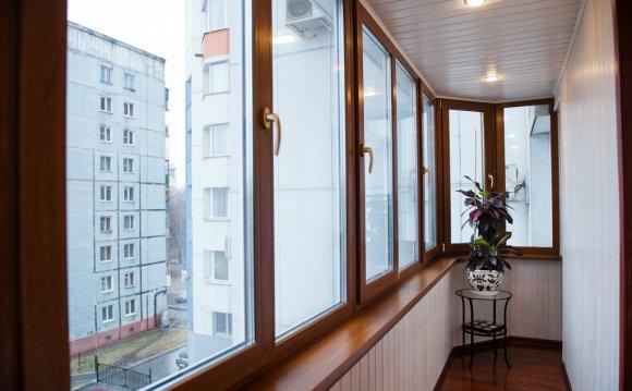 Лоджия балкон отделка внутри