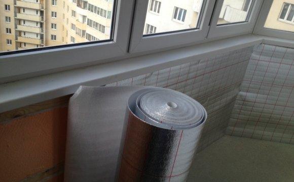 Як утеплити балкон своїми