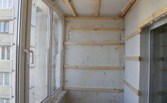 Ремонт балкона - монтуємо