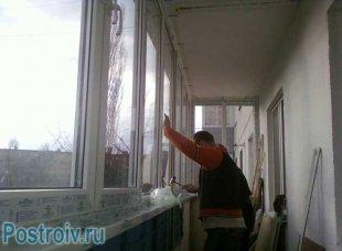 Робимо тепле скління балкона
