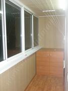 обробка балкона панелями