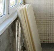 утеплення балкона пінополістиролом