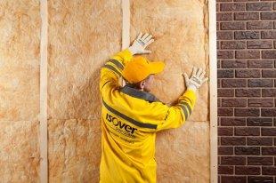 Утеплення стін зовні мінеральною ватою
